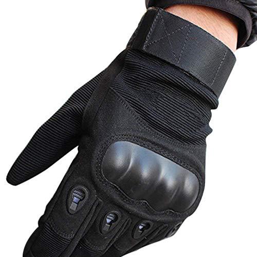 Guantes de Moto Protección de Antideslizante Dedo Completo Deportes al Aire Libre, Guantes de Tácticos…