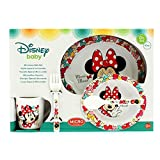 Minnie Mouse–5teiliges Set Mikrowelle Baby Farbe Bows ', (Stor st-45379)