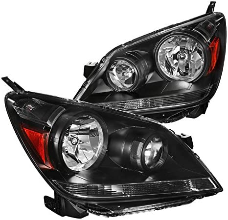 For New products Super special price world's highest quality popular Honda Odyssey Black Headlights Light Driving Headlamps Lamps