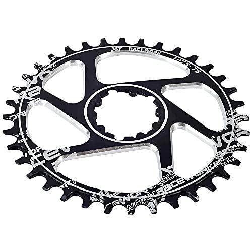 MENGGOO Cadena de la Bicicleta de montaña 32T 34T 36T 38T CRONDO DE LA Bicicleta DE LA CORDÍA para Fit for SRAM XX1 XO1 X1 GX XO X9 Piezas de la Bicicleta de la Bicicleta (Color : 36T)