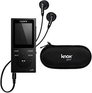 Sony NWE395 16GB Walkman MP3 Player with Hard Carrying Case Black