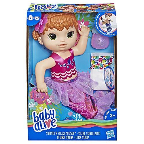 Baby Alive Mi Linda Sirena, Pelirroja Doll
