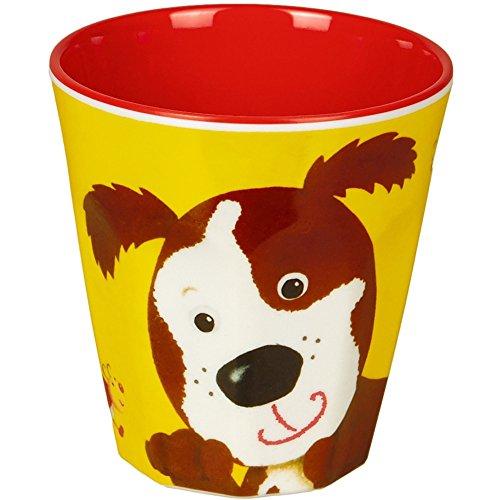 Die Spiegelburg 13223 Melamin-Becher Hund Freche Rasselbande