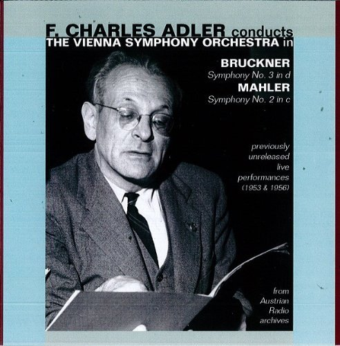 Adler Conducts Vienna Symphony Orchestra by Bruckner, Mahler (2012) Audio CD