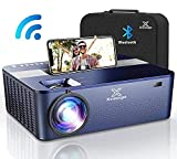 XNoogo Native 1080p Projector with 5G WIFI Bluetooth,9500 Lumens,HD 4K ,450'display Movie Projector for Support 4K & Keystone & Dolby & Zoom.Compatible with Phone,PC,TV Box,PS4
