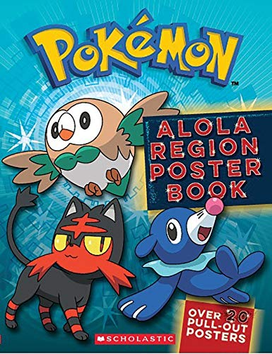 Alola Region Poster Book (Pokémon)