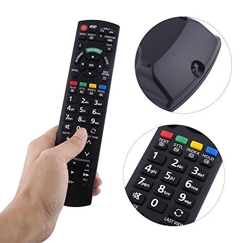 Socobeta Mando a distancia universal para TV Smart TV TV de repuesto a la moda para mando de TV digital LED LCD para N2QAYB000350