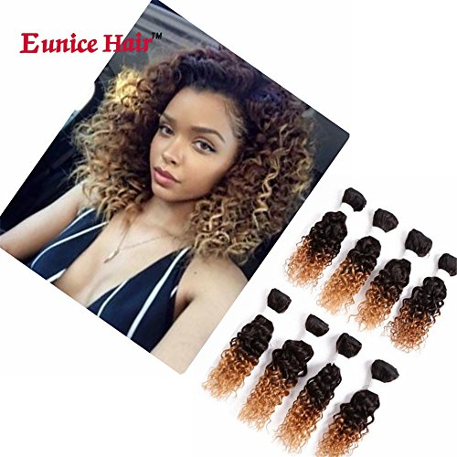 Burgundy curly weave _image3