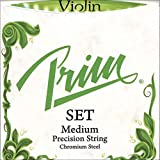 Prim 4/4 Violin String Set - Medium Gauge with Ball-end E