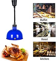 DAGCOT Resturantのキッチンビュッフェ、6のための29センチメートル大型ランプシェード伸縮シングルウォーマーランプと食品ウォーマーランプビュッフェ料理ヒートランプウォーマー食品加熱ランプコマーシャル (Color : 1)