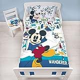 Mickey Mouse Edredón Junior 150 x 120 cm