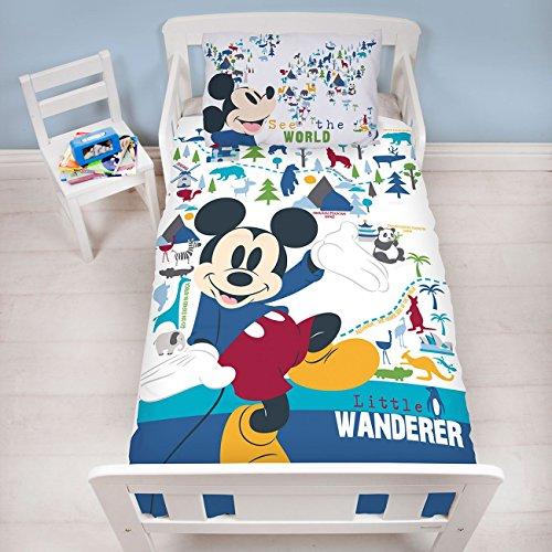 Mickey Mouse - Piumino per bambini, 150 x 120 cm