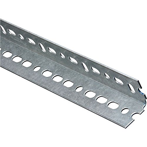 National Hardware 4020BC Slotted Steel Angle, 1-1/2 by 48-Inch, Galvanized