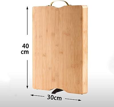 カッティングボード木製の家庭用矩形防カビスタンド可能台所用 (色 : B)