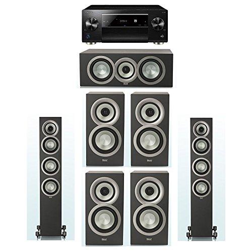 Best Review Of ELAC Uni-Fi Slim Black 7.0 System with 2 FS-U5 Floorstanding Speakers, 1 CC-U5 Center...