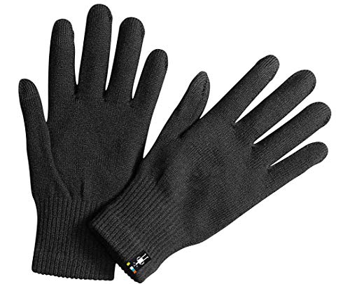 Smartwool Liner Glove Black MD