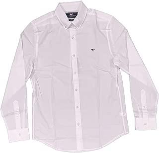 Men's Slim Fit Whale Shirt - White Cap