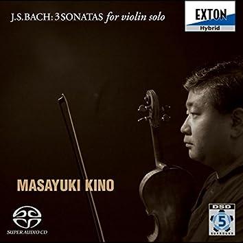 J.S.Bach: 3 Sonatas for Violin solo