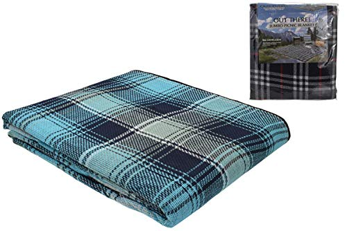 Manta para Picnic Tamaño Familiar a Cuadros Escoceses 3m x 2.2m