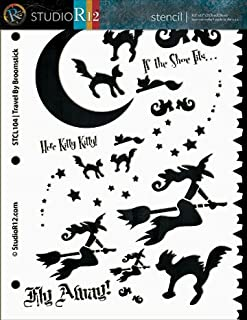 Best flying witch pumpkin stencil Reviews