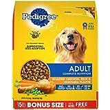 PEDIGREE Complete Nutrition Adult Dry Dog Food Roasted Chicken, Rice & Vegetable Flavor Dog Kibble, 15 lb. Bag