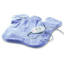 Moist Heating & Vibrating Pad For Neck And Shoulders