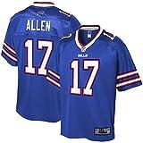 NFL PRO LINE Men's Josh Allen Royal Buffalo Bills Big & Tall Player Jersey