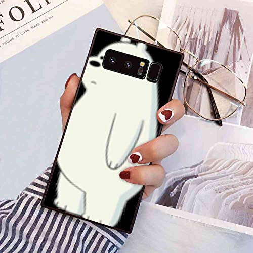 Phone Case Compatible Samsung Galaxy Note 8 (2017) [6.3'] We Bare Bears Ice Bear