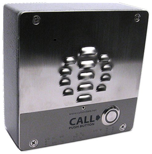 Cyberdata 011186 V3 Voip Outdoor Intercom Cpnt (Pack 1)