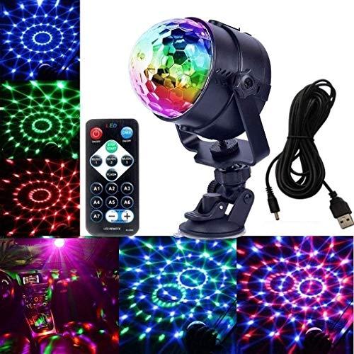 Bühnenbeleuchtung USB Magic Ball Licht 5V Mini Car Sound Control DJ Licht Weihnachten Halloween Atmosphäre dekorative Licht Bühne Disco ANGANG