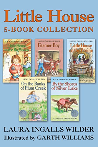 Little House 5-Book Collection: Little House in the Big Woods, Farmer Boy, Little House on the Prairie, On the Banks of Plum Creek, By the Shores of Silver Lake (English Edition)