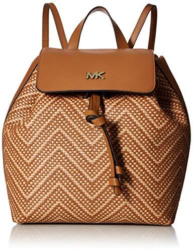 MICHAEL Michael Kors Junie Medium Flap Backpack Acorn/Butternut One Size