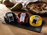 Snowdonia Cheese Company Slate Cheese Board Including Black Bomber, Beechwood & Ruby Mist