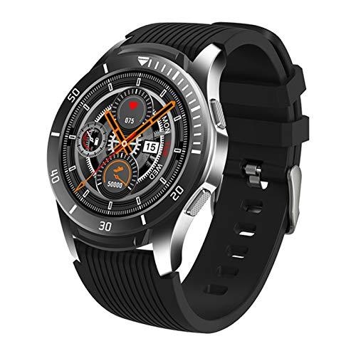 ZWW Smartwatch Bluetooth Impermeable A Prueba De Agua Presión Arterial Monitor De Sueño Recordatorio De Clima Reloj De Aptitud GT106 Smart Watch Mujeres,C