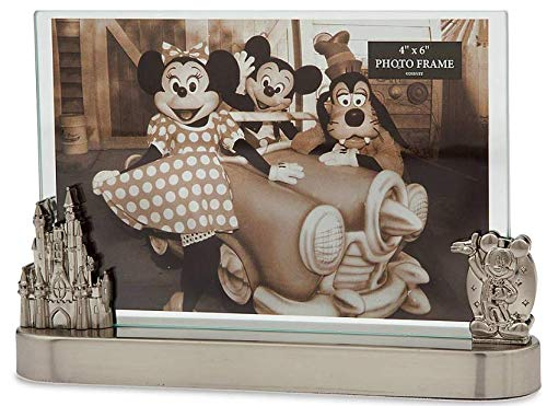 Disney Parks Mickey Mouse and Fantasyland Castle Contemporary Photo Frame – 4'' x 6''