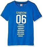 PUMA T-Shirt per Bambini con Stemma della FIGC Tribute 2006 Graphic Tee, Team Potenza Blue, 164, 750487 07
