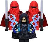 LEGO Juego de minifiguras de Star Wars con Imperator Palpatine y 2 Royal Guard (Imperial Ehrengarde)
