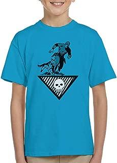 Comics Kingdom The Phantom & Wolf Running Kid's T-Shirt