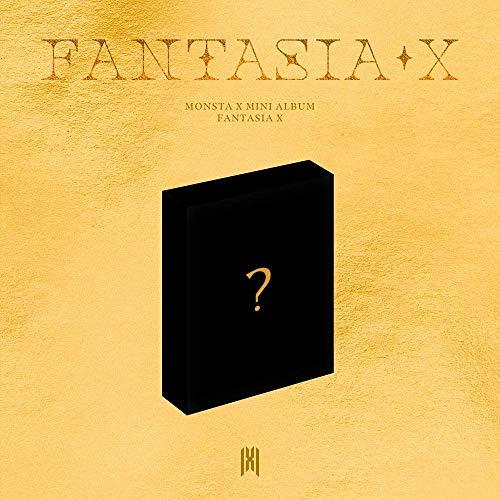 MONSTA X FANTASIA X 8th Mini Kihno Album Air-Kit+Post Card+30p Photo Card SEALED+TRACKING CODE K-POP SEALED