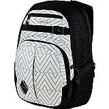 Nitro Chase Rucksack, Schulrucksack mit Organizer, Schoolbag, Daypack mit 17 Zoll Laptopfach,  Diamond