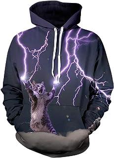 Unisex Realistic 3D Print Galaxy Pullover Hoodie Hooded Sweatshirt Galaxy Hoodie Men Colourful HD 3D Printed Pullover Hoodies