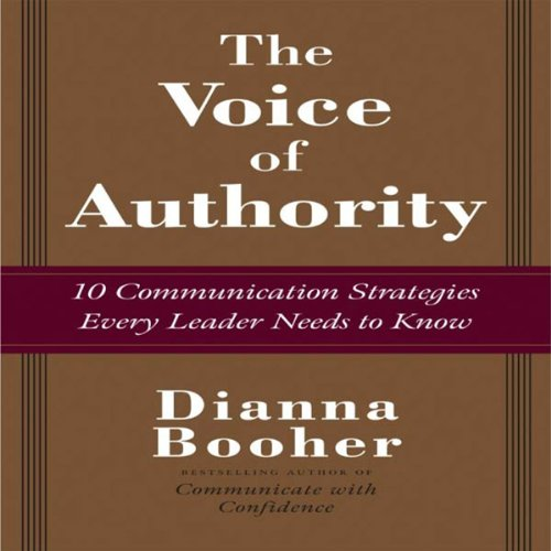 The Voice of Authority audiobook cover art
