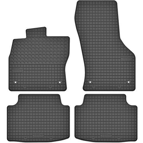 AGCPdirect Gummi Matten Fußmatten Passgenau 4-teilig Set für Volkswagen Passat...