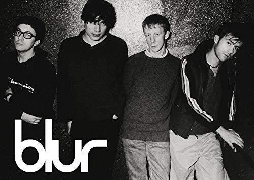 Blur Poster poster #5 - Damon Albarn - 80's Rock band - wall art - print (A3 420 x 297mm)