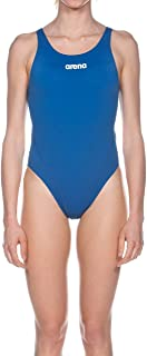 Arena W Solid Swim Tech High, Costume da Bagno Donna