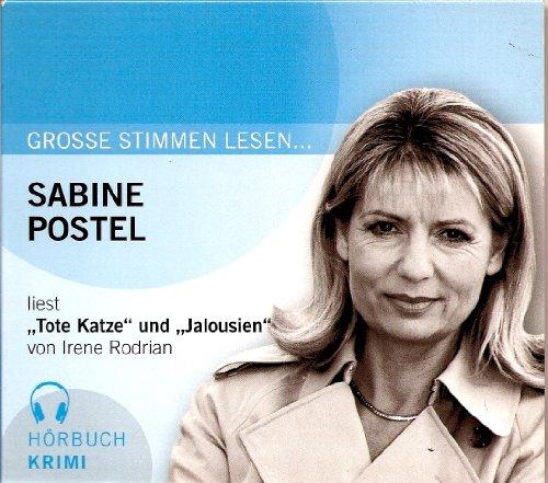 Sabine Postel liest ``Tote Katze``und ``Jalousien`` von Irene Rodrian