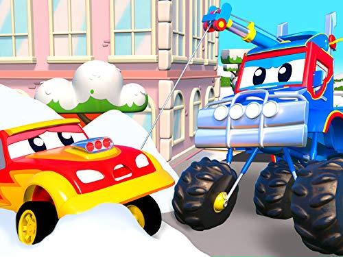 Eingeschneit / Baby Autos frieren / Die Schneeballschlacht / Car City ist eingefroren