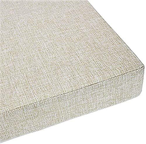 yzzlh Premium Erkerfenster-Sitzkissen/-kissen, personalisierbare Größe, Fensterbank, Bank, Sofa, Couch, Kissen für Renovierung, inklusive waschbarem, abnehmbarem Bezug (N,40 cm L x 40 cm B x 3 cm H)