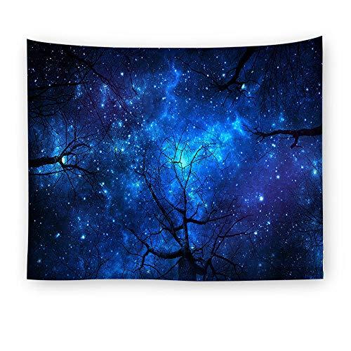 ZYLSZBD Tapestry,Colgar en la Pared,Estampado de Estrellas de Tela Decorativa-Foto 1_El 150X150cm
