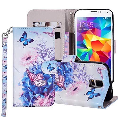 9600 Funda para Samsung Galaxy 9600, Carcasa Cuero Billetera Piel Libro Cover [Ranura Tarjeta] Color Sólido Protectora Slim Bumper Wallet Flipkasay Folio Color Puro Estuches,